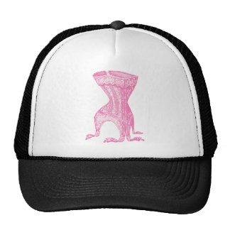 French Corset Pink Cap