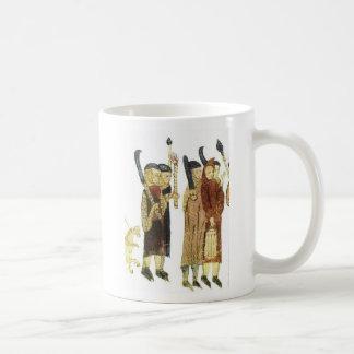French Costumes, Touluse 13th Century Basic White Mug
