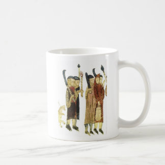 French Costumes, Touluse 13th Century Coffee Mugs