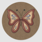 French Country Autumn Butterfly Stickers