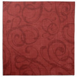 French Country Christmas Red MoJo Napkins