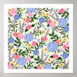 "French Country Garden Art Print 12"" x 12"""