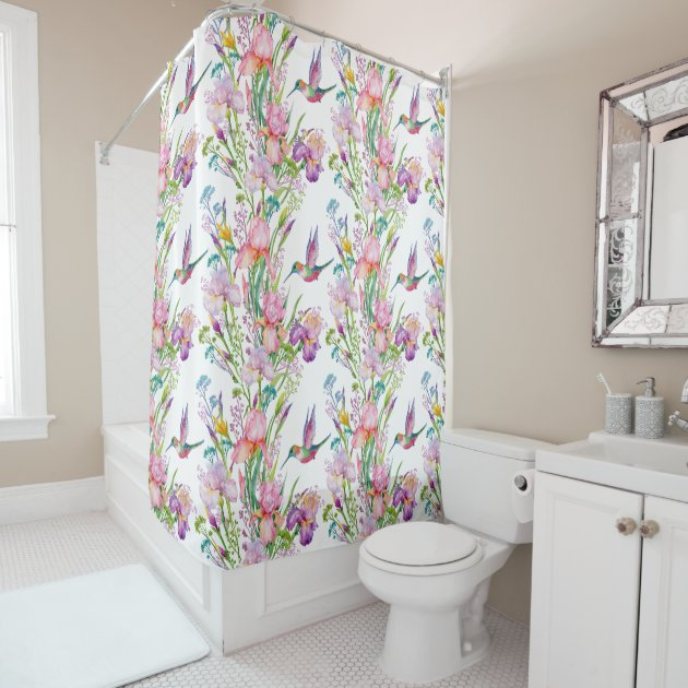 French Country Garden Shower Curtain Zazzle Co Uk