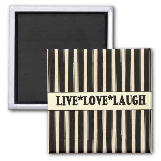 French Country Live, Love, Laugh Fridge Magnet