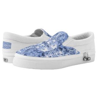 French Country Mosaic Du Vin Mandala 1 by Deprise Slip-On Shoes