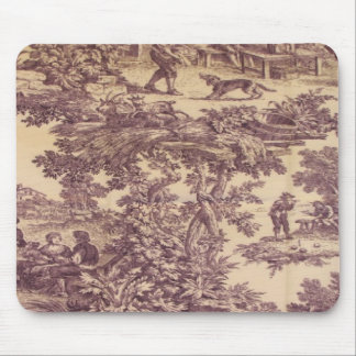 French Country Toile Grape Mousepad