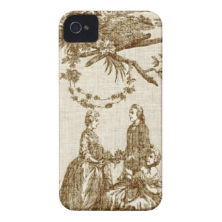 French Country Toile iPhone 4 iPhone 4 Cover