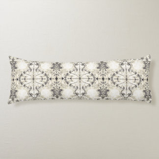 French Country Vintage Champagne Mosaic by Deprise Body Cushion