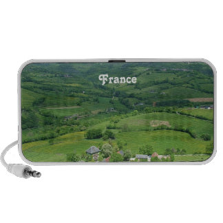 French Countryside Laptop Speakers