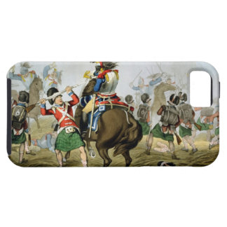 French Cuirassiers at the Battle of Waterloo, Char iPhone 5 Cover