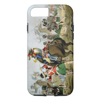 French Cuirassiers at the Battle of Waterloo, Char iPhone 7 Case
