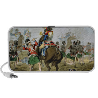 French Cuirassiers at the Battle of Waterloo, Char Portable Speakers