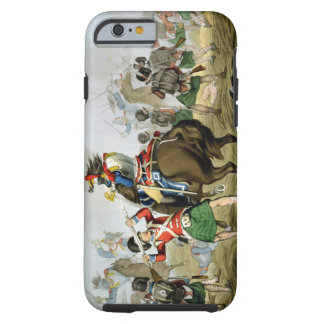 French Cuirassiers at the Battle of Waterloo, Char Tough iPhone 6 Case