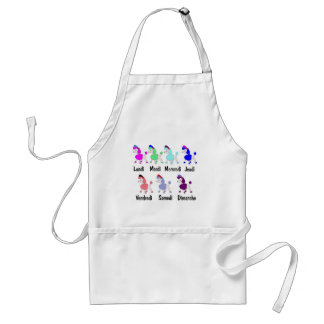 French Days of the Week Standard Apron