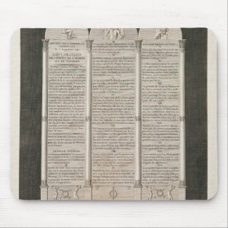 French Declaration of the Rights of Man Mouse Mat