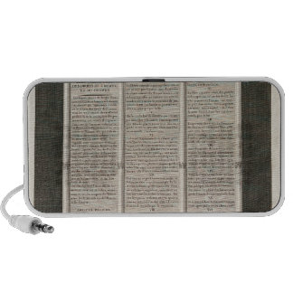 French Declaration of the Rights of Man Portable Speaker