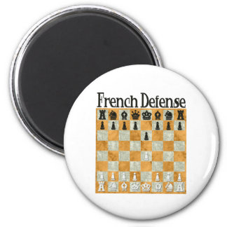 French Defense Magnet