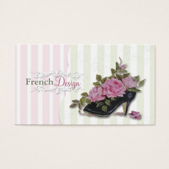 French Design Business Cards