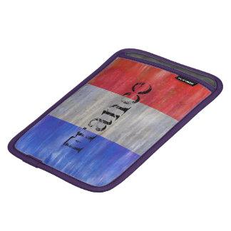 French Distressed Flag - France iPad Mini Sleeve