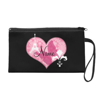 French Elements Wristlet Purses