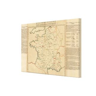 French Establishments Canvas Print