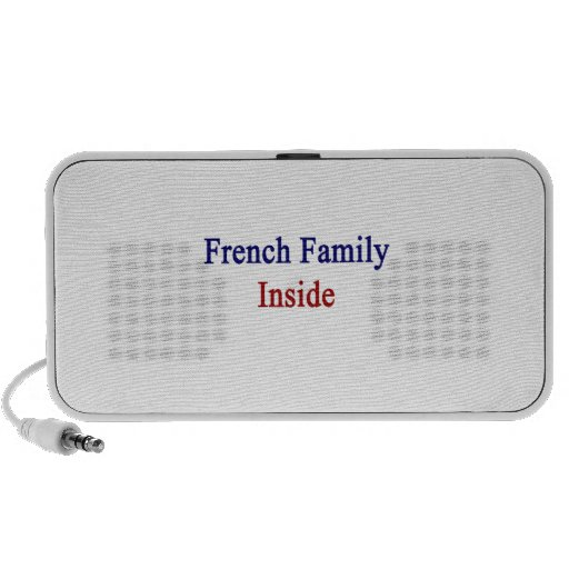French Family Inside Travel Speakers