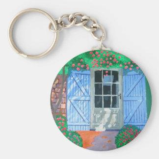 French farm yard key chains