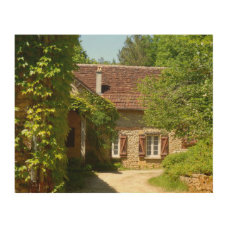 French Farmhouse and Gite Wood Wall Art