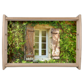 French Farmhouse Window Serving Tray