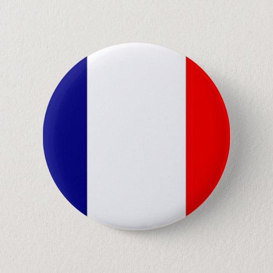 french_flag 6 cm round badge