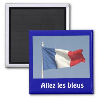 French flag, Allez les bleus Fridge Magnets