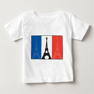 French Flag and Eiffel Tower Shirt