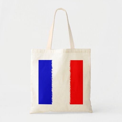 French Flag Canvas Bag