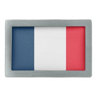 French Flag Belt Buckle