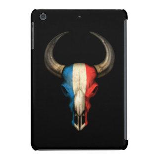 French Flag Bull Skull iPad Mini Cases