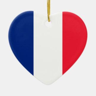 French Flag Christmas Ornament