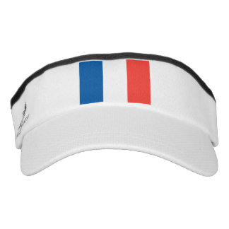 French Flag Custom Knit Visor