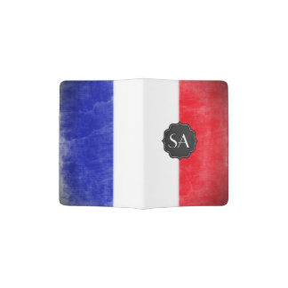 French Flag Customisable Passport Cover