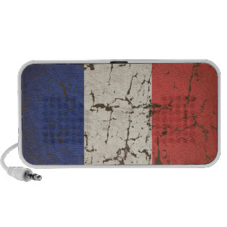 French Flag Distressed Travel Speaker