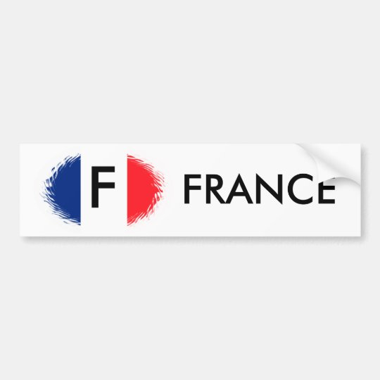 FRENCH FLAG,FRANCE BUMPER STICKER