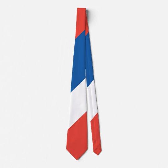 French Flag Le Tricolore 14 Juillet Tie