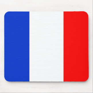 French Flag Mouse Pad