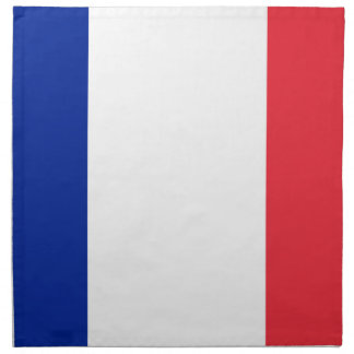 French Flag Napkin