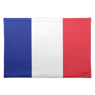 French flag placemat | France colors