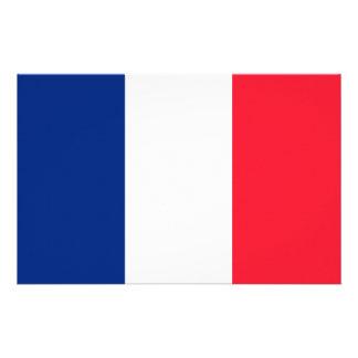 French Flag Stationery