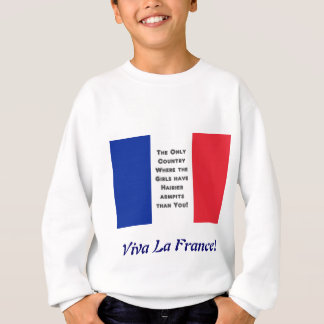 French Flag Sweatshirt
