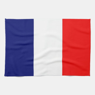 French Flag Tea Towel