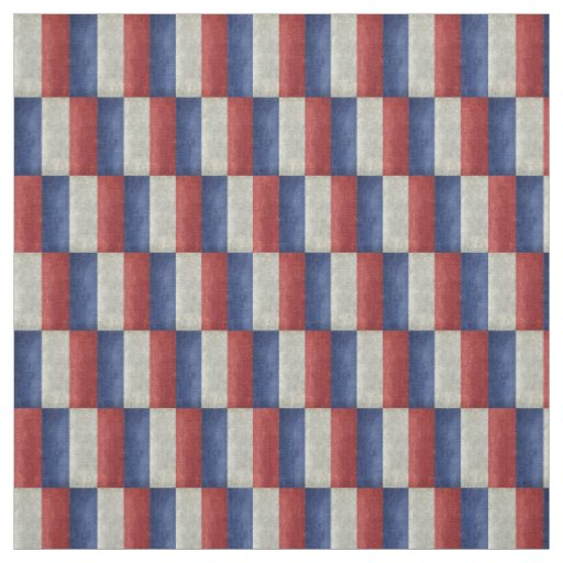 French Flag with a twist Fabric