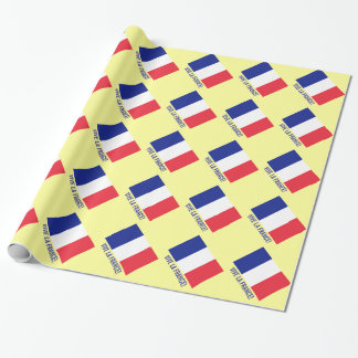 French flag wrapping paper | Vive la France!