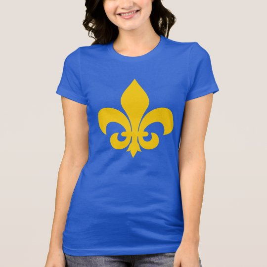 French Fleur-de-Lys Women's Jersey T-Shirt